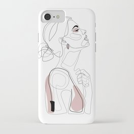 Blush Beauty iPhone Case