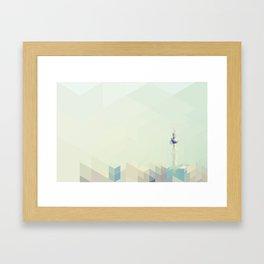 Fernsehturm (Berlin) Framed Art Print