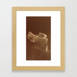 Light up my life Framed Art Print