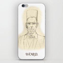 Abe 'N Play iPhone Skin