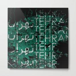myCityTehran Metal Print