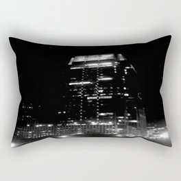 Nashville Nights - Downtown building Rectangular Pillow