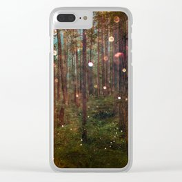 Midsummer Night's Dream Clear iPhone Case