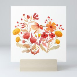 Rufous Hummingbird Mini Art Print