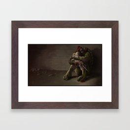 RAPHAEL goodbye, my brothers... Framed Art Print