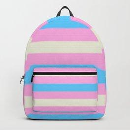 Transgender Pride Flag v2 Backpack
