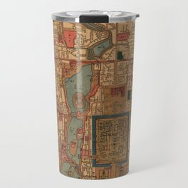 Vintage Map of Beijing China (1914) Travel Mug