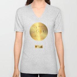 Voyager 1 Golden Record #1 Unisex V-Neck
