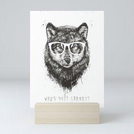Who's your granny? (b&w) Mini Art Print