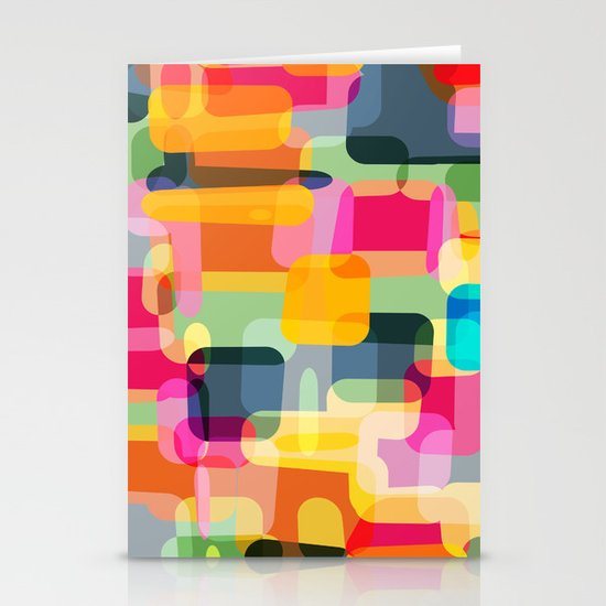 technicolour 2 Stationery Cards