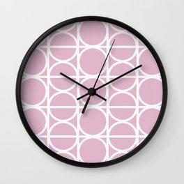 Coco Pink Wall Clock