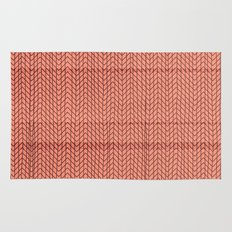 dizzy red Rug