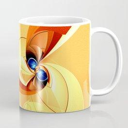 Abstract orange 1 Coffee Mug