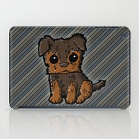 caleb troy iPad Cases featuring Troy - Silky Terrier by Sylvester Pyke