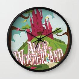 Alice in Wonderland - Lewis Carroll Wall Clock