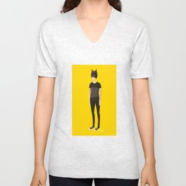 Tegan and Sara: Bategan Unisex V-Neck