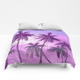 Palm Trees 3 Comforters