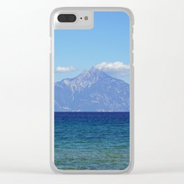 King Athos Clear iPhone Case