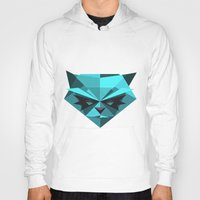 racoon Hoodies featuring Rocky Racoon by rybbrybson