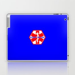 MEDICAL ALERT kidney failure Identification tag Laptop & iPad Skin