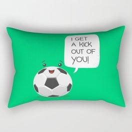 Tough Love! Rectangular Pillow