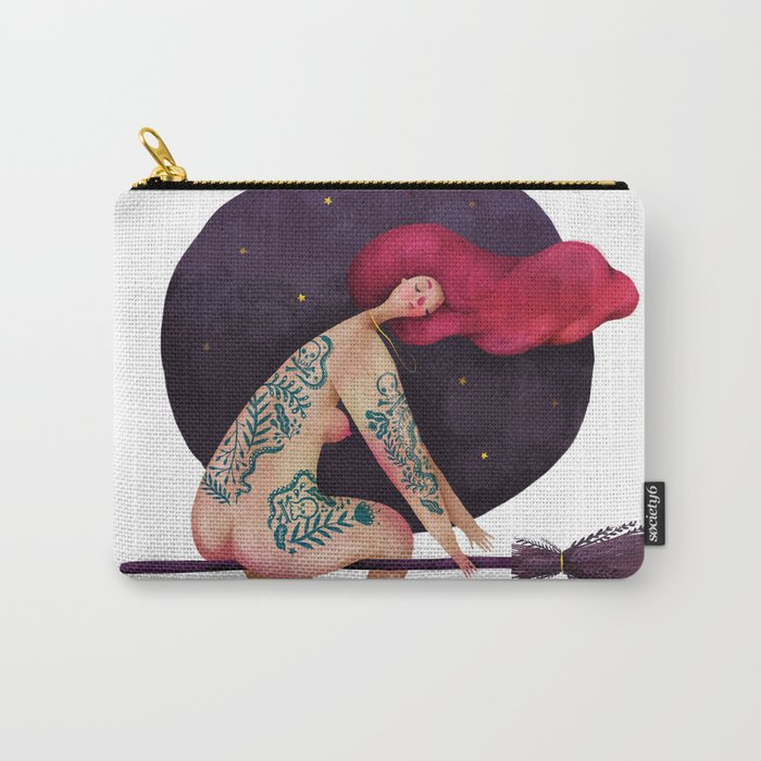 Sexy witch Carry-All Pouch