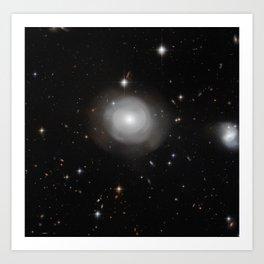 Galaxy ESO 381-12 Art Print