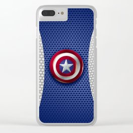 art badass hero Clear iPhone Case