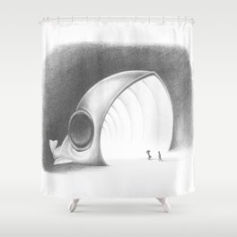 Something Fishy Shower Curtain