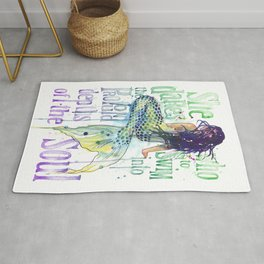 Mermaid : Profound Depths Rug