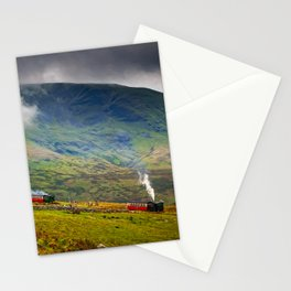 Steam Trains To The Summit Stationery Cards
