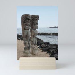 Hawaiian Tikis Mini Art Print