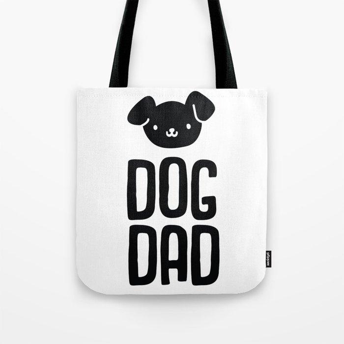 Dog Dad Cotton Tote Bag