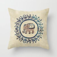 relax Throw Pillows featuring Relax  by rskinner1122