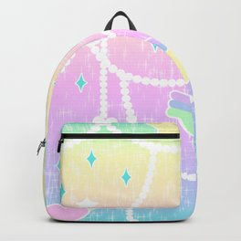Beads and Stickers Backpack