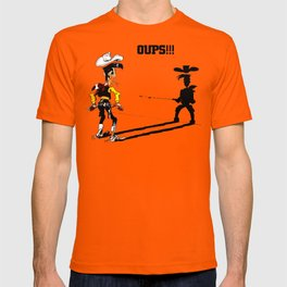 Fast shadow - OUPS - grey version T-shirt