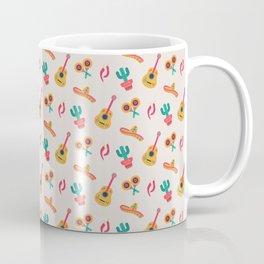 Mexican Cinco de Mayo Party Pattern Coffee Mug
