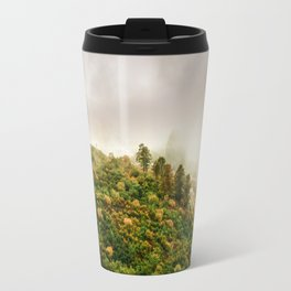 Autumn valley in the cloud Travel Mug