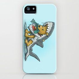 Shark Suit Dog iPhone Case