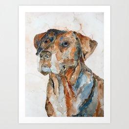 DOG#12 Art Print