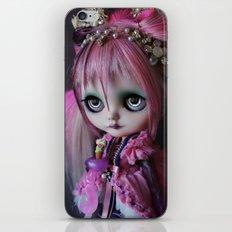 LITTLE OCTOPUS CUSTOM BLYTHE ART DOLL PINK NAVY iPhone & iPod Skin