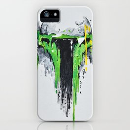 Green Menace 1 iPhone Case