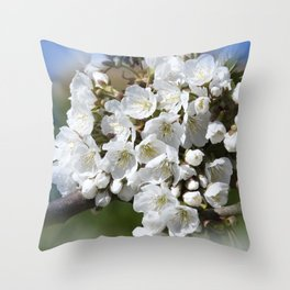 the beauty of a summerday -9- Throw Pillow
