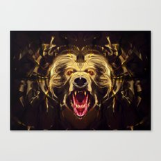 Hungry for blood Canvas Print