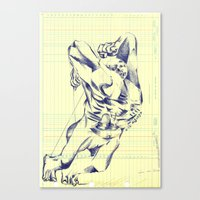 grid Canvas Prints featuring GRID by Juan Antonio Zamarripa [Esqueda]