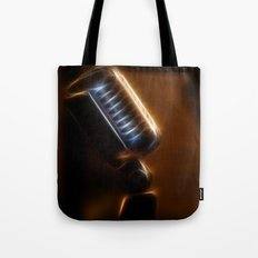 Old mic Tote Bag