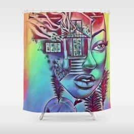 NBDisaster Shower Curtain