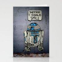 robots Stationery Cards featuring Robots by Studio La Clandestina