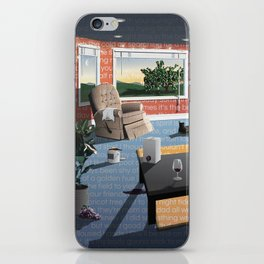 "Hippo Campus - ""Landmark"" Lyrics iPhone Skin"