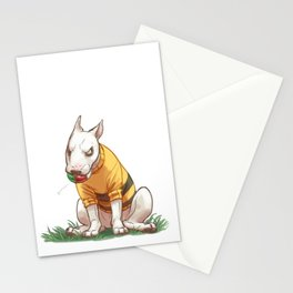 Mad dog in bumble bee sweater  Stationery Cards